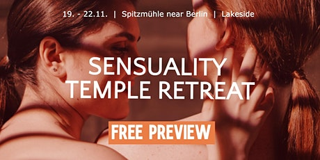FREE PREVIEW Sensuality Temple Retreat Tickets
