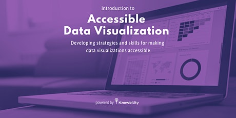 Introduction to Accessible Data Visualization tickets