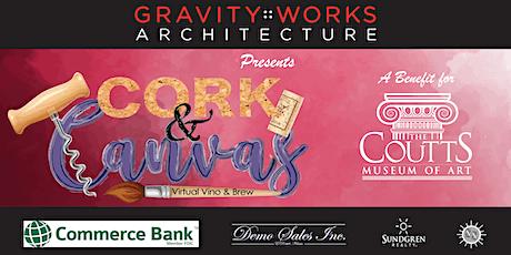 Cork & Canvas: A Virtual Vino & Brew tickets