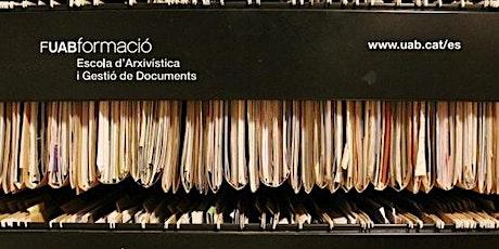 Webinar:Claves para dirigir un servicio de gestión de documentos y archivos entradas
