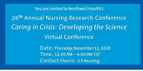 26th Annual Nursing Research and Evidence Based Practice Conference tickets