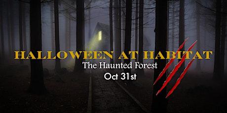Halloween at Habitat tickets