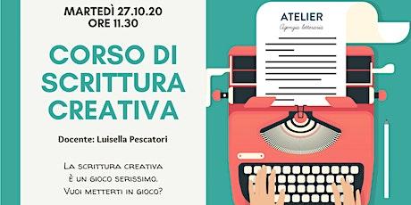 WEBINAR DI SCRITTURA CREATIVA GRATUITO biglietti