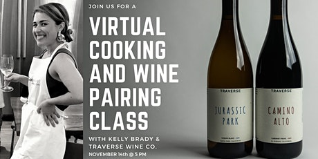 Virtual Cooking and Wine Pairing Class (2 bottles of wine included!) tickets