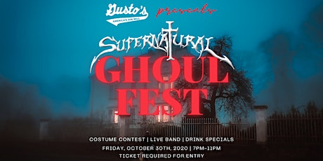 Gusto's Ghoul Fest ft. Supernatural tickets