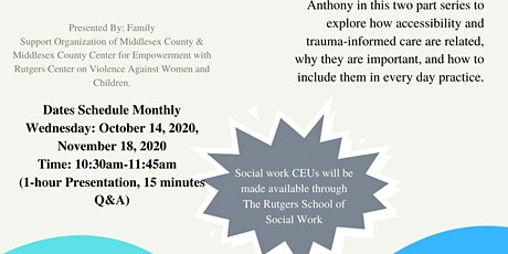 Disability, Sexuality, and Clinical Settings tickets