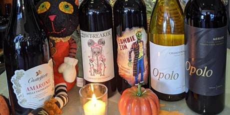 Wine Tasting - Spooky (but Delicious) Halloween Wines tickets