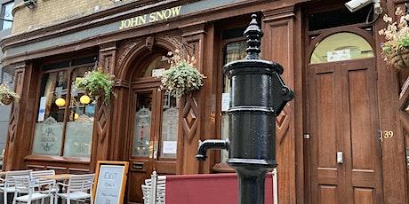Ride to the V&A via the John Snow Pump tickets