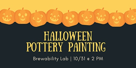 Halloween Pottery Painting at Brewability Lab tickets
