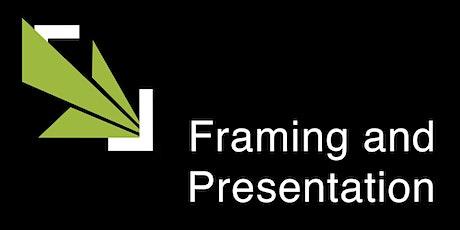 PRC Workshop: Framing and Presentation tickets
