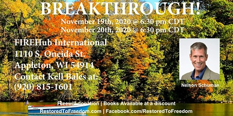 Breakthrough in Appleton, WI tickets