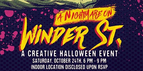 3rd Annual Creative Halloween Event - A Nightmare on Winder St. tickets