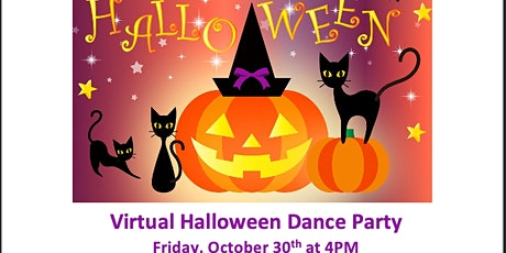Virtual Halloween Dance Party tickets