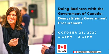Doing Business with the Government of Canada tickets