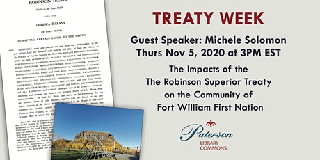 Treaty Week Talk with Councilor Michele Soloman, FWFN tickets