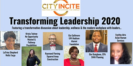 Transforming Leadership- City Incite's 2020 Fundraiser tickets
