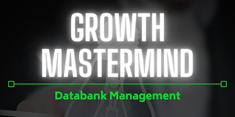 Databank Management- A Real Estate Mastermind tickets