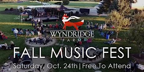 Wyndridge Farm Fall Music Fest tickets