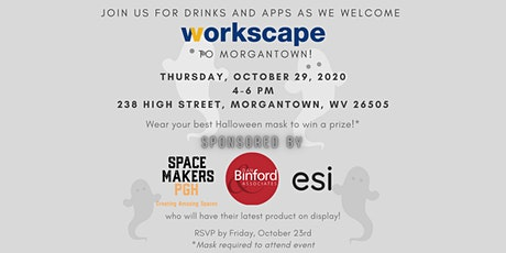Workscape Morgantown Happy Hour with SpacemakersPGH and Dan Binford & Assoc tickets