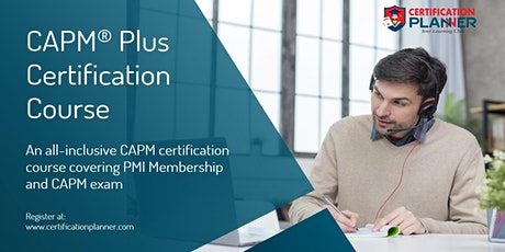CAPM Plus Certification  in Indianapolis tickets