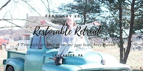 Restorable Retreat 2021 tickets