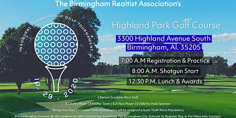 The Birmingham Realtist Association's Inaugural Scholarship Golf Tournament tickets