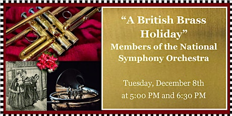 Sounds of Joy & Light: Chamber Concert - A British Brass Holiday tickets