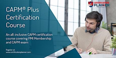CAPM Plus Certification  in Pierre tickets