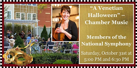 Sounds of Joy & Light: Chamber Concert - A Venetian Halloween tickets