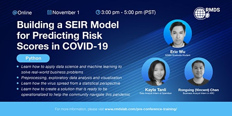 Building a SEIR Model for Predicting Risk Scores in COVID-19 tickets