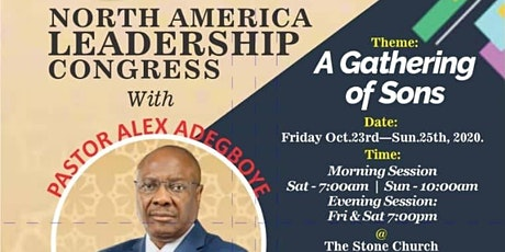 The Stone Church North America Leadership Congress Day 1 tickets