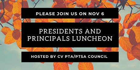 Presidents and Principals Luncheon tickets