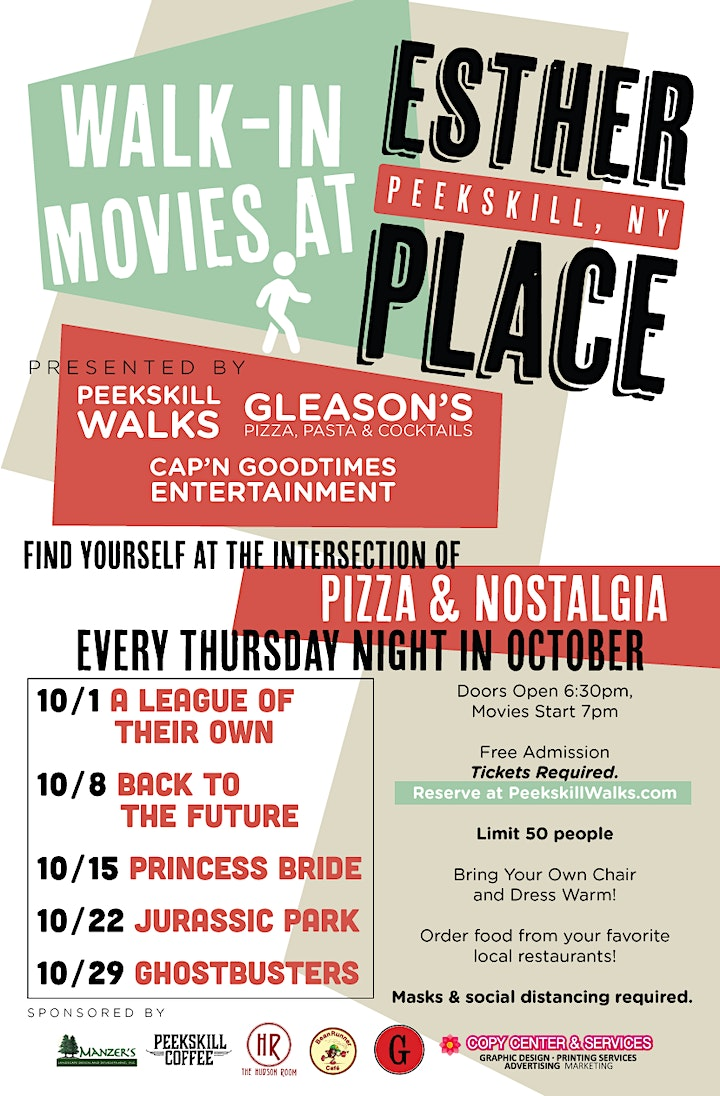 Esther Place Walk-In Movie Series: Ghostbusters image