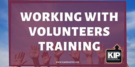 Working With Volunteers Training tickets