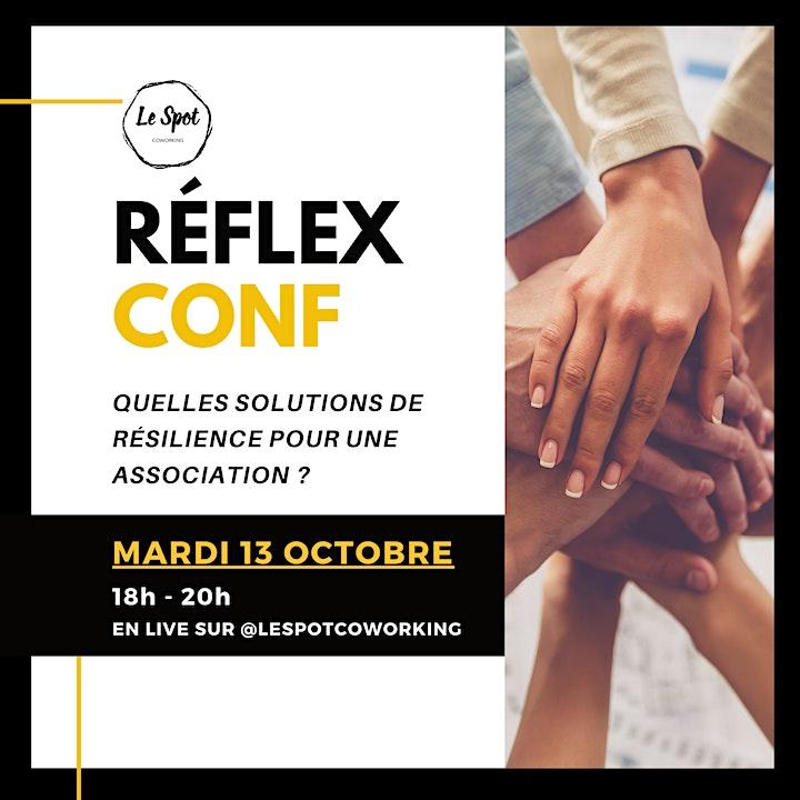Image pour REFLEX CONF - Les solutions de résilience pour les associations