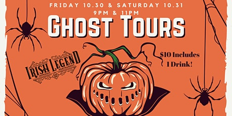 Halloween Ghost Tours tickets