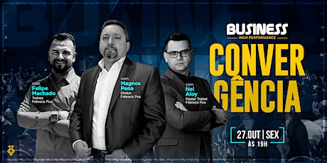 Convergência Business High Performance 27/10 ingressos