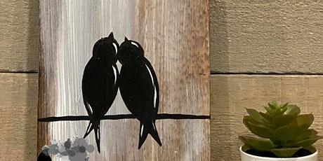 WOOD SIGN EVENT - Love Birds tickets
