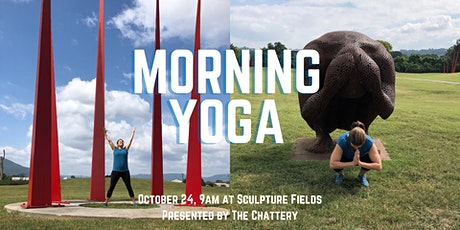 Morning Yoga at Sculpture Fields - IN-PERSON CLASS tickets