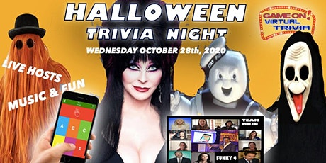 Halloween Music, Movie, pop culture  Fun Trivia .. Great Prizes l tickets
