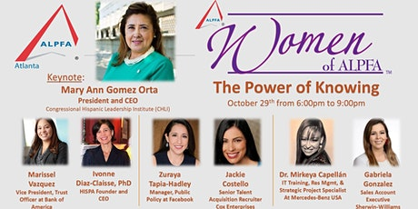 "Women of ALPFA Atlanta 2020  ""The Power of Knowing"" tickets"