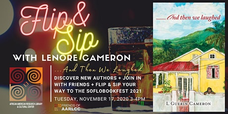 Flip & Sip with Lenore Cameron: And Then We Laughed - Local Authors @BCL tickets