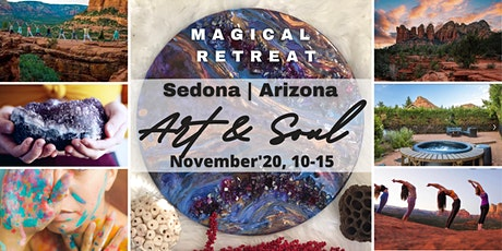 Art and Soul Retreat in Sedona, Arizona, November 2020 tickets