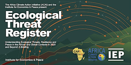 Ecological Threat Register Briefing: Building Peace & Climate Resilience tickets