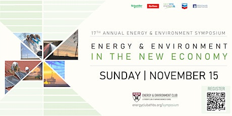 17th Annual Energy & Environment Symposium tickets