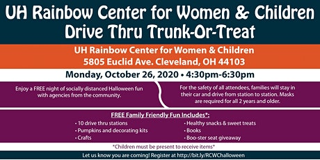UH Rainbow Center for Women & Children Trunk or Treat tickets