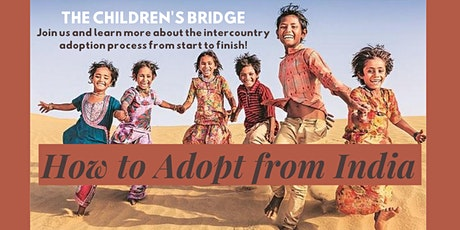 India Adoption Program Information Session via Zoom tickets