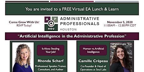 Administrative Professionals - Houston: Virtual Lunch & Learn (Nov 2020) entradas