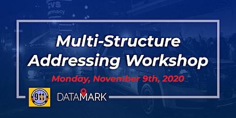 Multi-Structured Addressing Workshop tickets