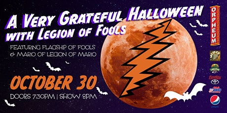 SHOW ADDED: A Very Grateful Halloween With Legions Of Fools tickets